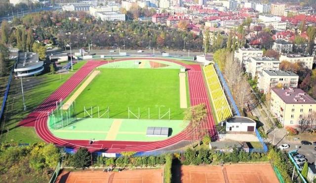 Stadion AWF przy ulicy Kościuszki w Katowicach