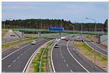 Tydzień utrudnień na autostradzie A1. Będą montowali belki wiaduktów.