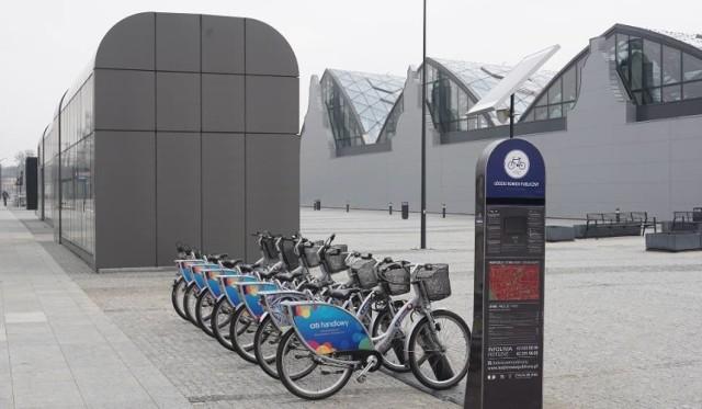 Wypożyczalnie rowerów z powodzeniem działają już w Łodzi