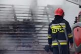 Pożar w Niemczynie pod Damasławkiem. Trwa zbiórka dla pogorzelców. Co z nimi? [ZDJĘCIA]