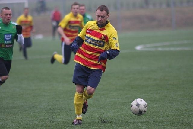 Tomasz Frankowski zdobył jedną z bramek dla Jagiellonii.
