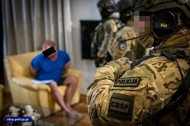 Wielkopolski gang zajmujący się handlem narkotykami został rozbity przez Centralne Biuro Śledcze Policji