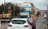 Grudziądz. Nowe utrudnienia w ruchu przy ul. Chełmińskiej: zamknięte skrzyżowanie z ul. Tytoniową