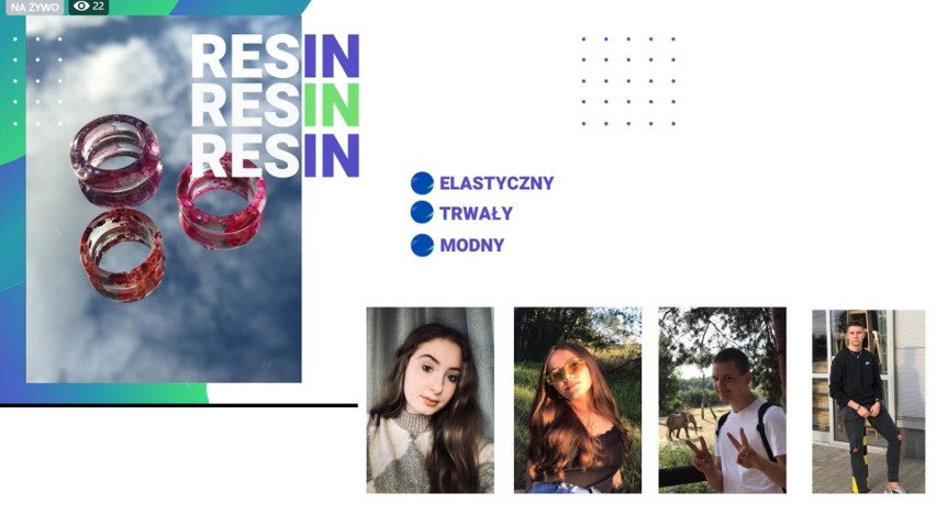 RESIN zdobywcą Grand Prix Ogólnopolskiego Konkursu na Najlepsze Młodzieżowe Miniprzedsiębiorstwo PRODUKCIK 2021!