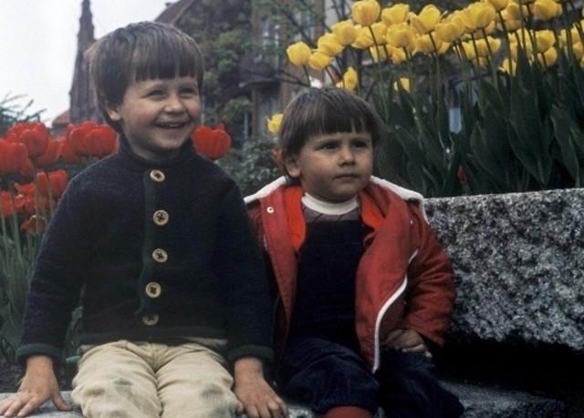 """Przyszli twórcy """"Undergruntu"""": Grzegorz (z lewej) i Wojciech Giedrys."""
