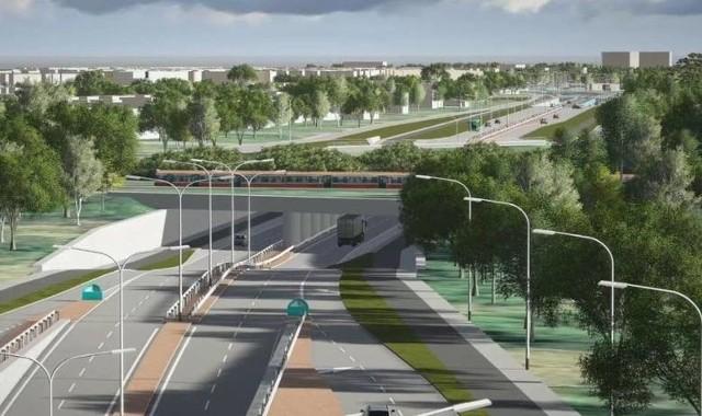 Trasa niepodległości, zamiast wiaduktami, będzie częściowo przebiegała pod ziemią. W sumie będzie miała około 10 kilometrów.