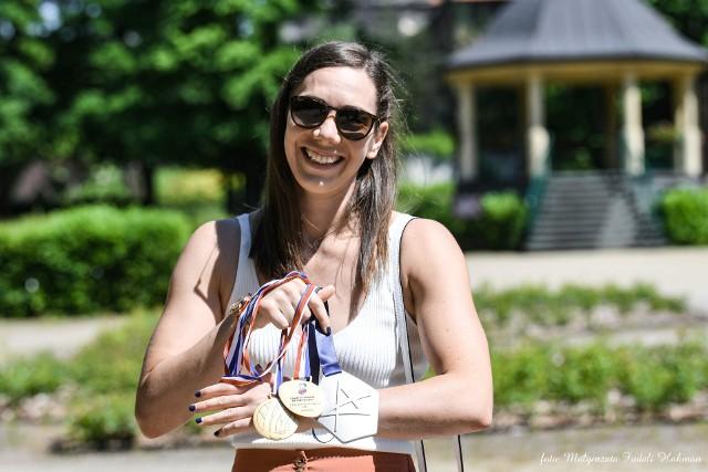 Monika Kobylińska jest reprezentantką Polski i zdobyła w Polsce, a teraz we Francji wszystkie możliwe tytuły. To duma miasta. To po prostu nasza Monika.