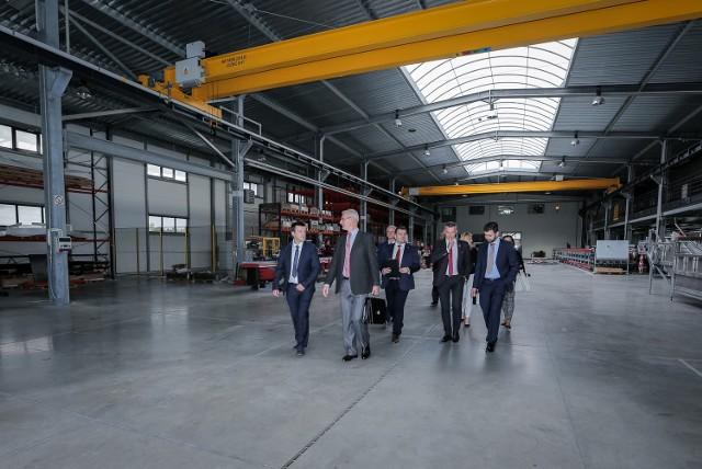Firma Sorter z Radomia prezentowała swój najnowszy wynalazek i nową halę produkcyjną.