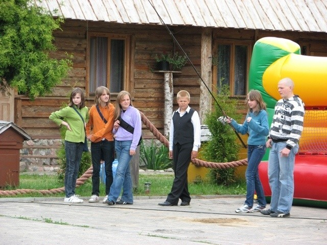 Festyn przedsiebiorców dla dzieci z Broku