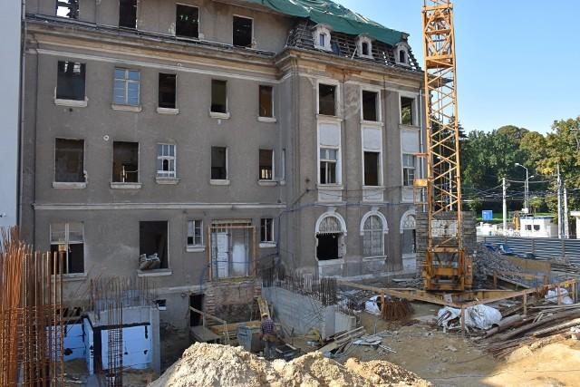Przebudowa Muzeum Techniki i Komunikacji w Szczecinie.