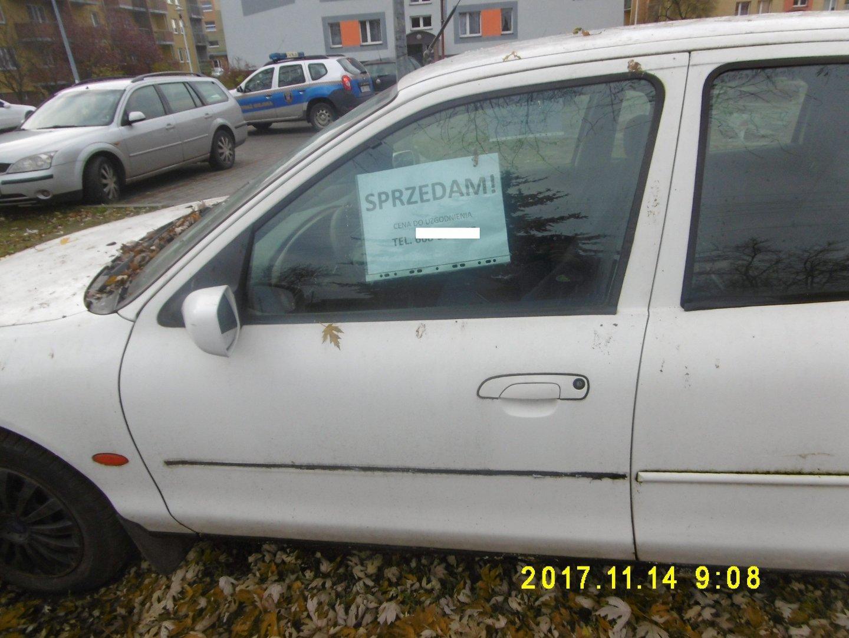 Poważne Sprzedajesz własny samochód? Za kartkę na szybie zapłacisz 751,65 VL03