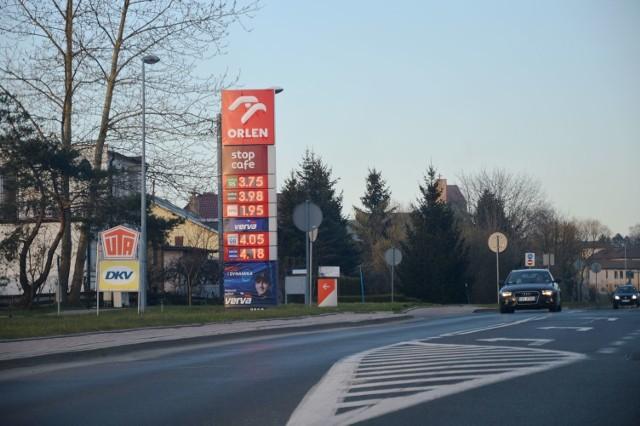 Aktualne ceny paliw w Bytowie.