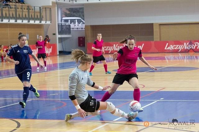 Alicja Zając zdobyła pierwszą bramkę dla AZS UAM Poznań w sobotnim meczu z AZS AWF Warszawa