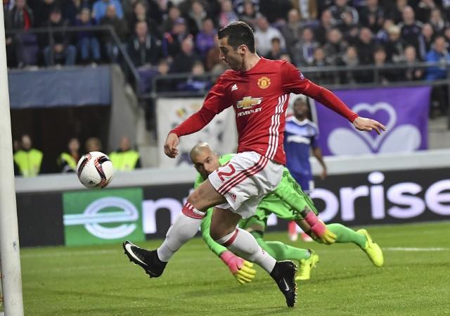 Anderlecht Bruksela - Manchester United 1:1