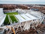 ŁKS. Obiekt stadionopodobny zamienia się w prawdziwy stadion! [ZDJĘCIA]