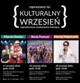 Kulturalny wrzesień. Marcin Daniec, Rewia Forever, Maciej Maleńczuk (bilety)