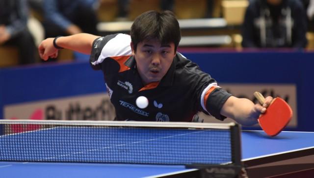 Cazuo Matsumoto w trzech meczach wygrał tylko jednego singla.