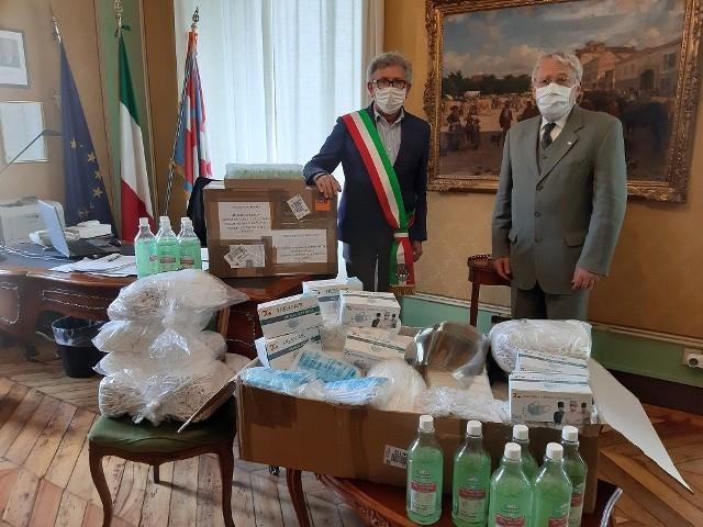 Włosi w piękny sposób podziękowali Przemyślowi za pomoc.