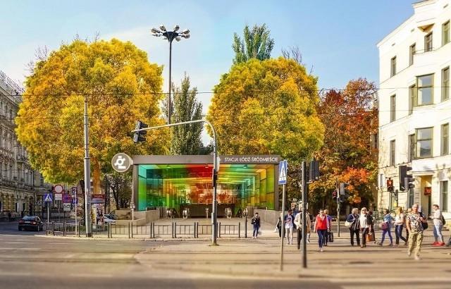 Tak ma wyglądać stacja Łódź Śródmieście
