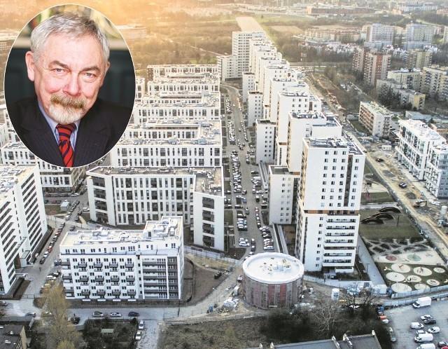 """Osiedle Avia - to przykład, jak można zabetonować miasto. Czy taki kołchoz to atrakcyjne miejsce dla """"najzdolniejszych absolwentów uczelni"""", których w Krakowie chce zatrzymać prezydent Majchrowski?"""