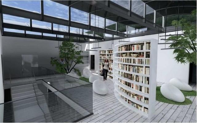 Tak będzie wyglądała nowa biblioteka w Gnieźnie.