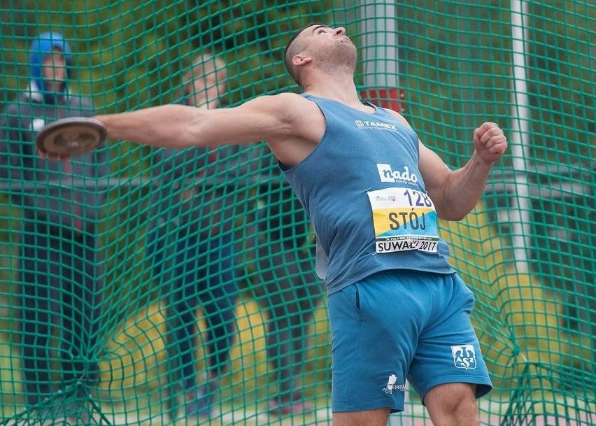 Bartłomiej Stój w rzucie dyskiem uzyskał 60,73 metra i tym samym wypełnił minimum na Mistrzostwa Europu do lat 23.