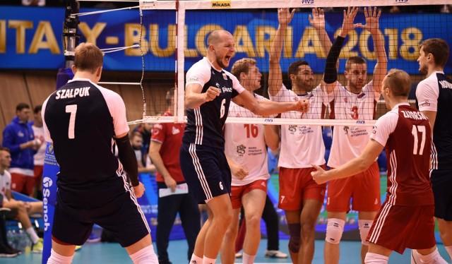 Bartosz Kurek zdobył 21 punktów z Serbią.