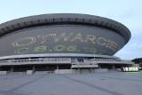 Katowice. 50 dat na 50 lat Spodka. Zobaczcie niezwykłą świetlną projekcję na fasadzie katowickiej hali