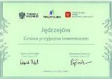 """Jędrzejowska strefa ekonomiczna kwitnie i jest doceniana. Gmina otrzymała nagrodę """"Gmina Przyjazna Inwestorom"""""""