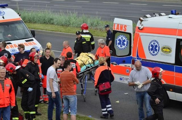 Gran Turismo w Poznaniu. 19 osób zostało rannych