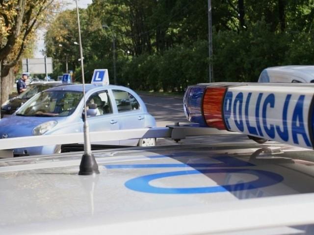 Policjanci skontrolowali ponad 100 pojazdów przeznaczonych do nauki jazdy i egzaminacyjnych