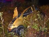 Wypadek w Jeżowem. Pasażer nie żyje, kierowca był pijany