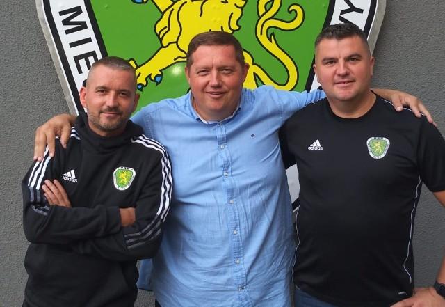 Od lewej: Waldemar Czepułkowski, Tomasz Pluciński i Leszek Syroka
