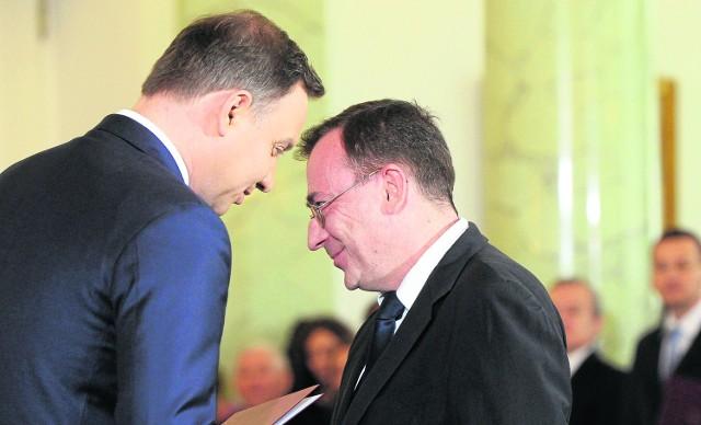 Mariusz Kamiński jest koordynatorem służb specjalnych