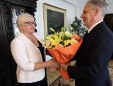 Małgorzata Bielang pełniącą obowiązki Pomorskiego Kuratora Oświaty. Zastąpiła Monikę Kończyk na stanowisku