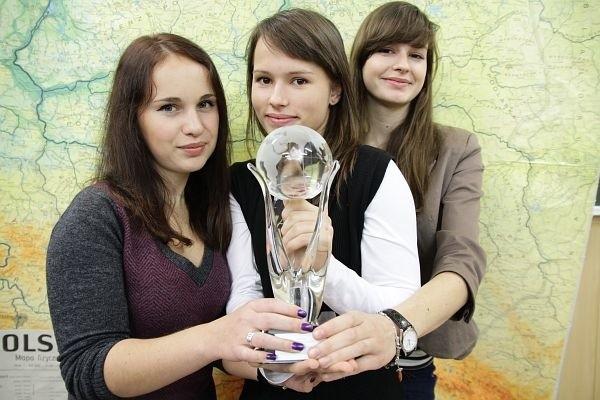 Najlepsza w kraju okazała się Joanna Stachniewicz (w środku). Agnieszka Putko (z lewej) była trzecia, tuż za nią uplasowała się Zuzanna Nikitorowicz.