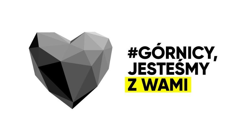 Górnicy, jesteśmy z Wami. Śląsk Was wspiera. Akcja DZ