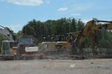 Plac budowy na ulicy Kilińskiego w Ostrowcu. Powstaje market budowlany Bricomarché (ZDJĘCIA)