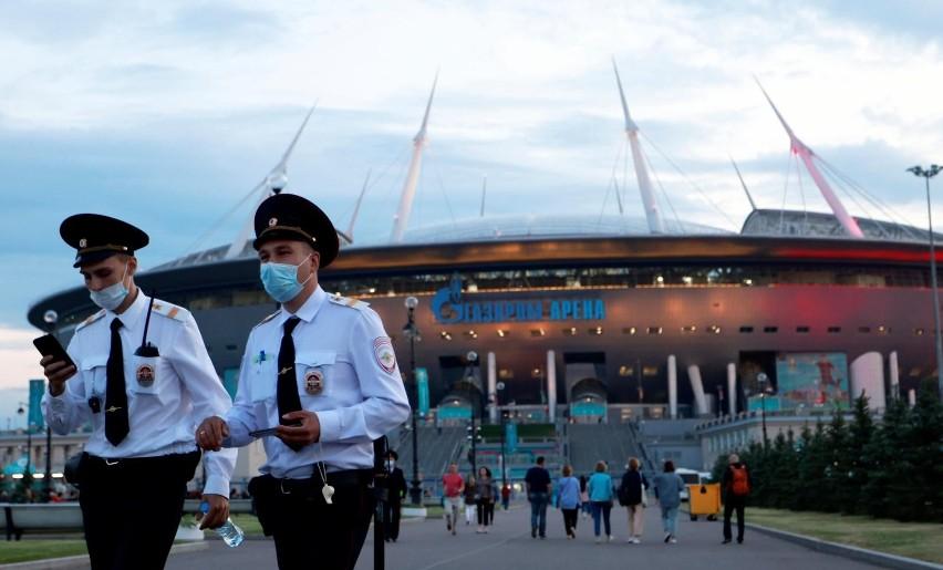 W Sankt Petersburgu nie czuć atmosfery Euro 2020. Może...