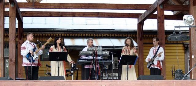 Na scenie wystąpiły zespoły z okolic Białowieży