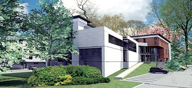 Koncepcja instytutu opracowana przez architekta Marka Chrobaka.
