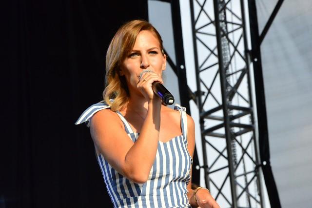 Małgorzata Hodurek podczas charytatywnego festiwalu SmykFest