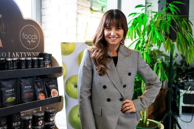 Anna Lewandowska promuje swoje produkty Foods by Ann