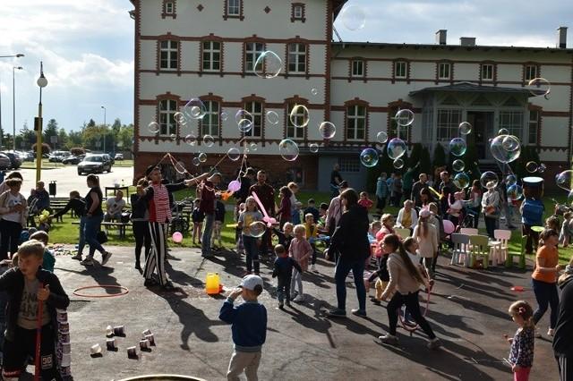 Festyn z okazji Dnia Dziecka w Unisławiu