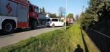 Wypadek w Zabierzowie na DK79. Zderzyły się dwa samochody osobowe