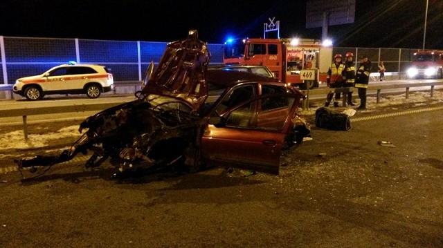 Wypadek na A4 koło Brzeska. W wypadku zginęło dwóch siatkarzy Karpat Krosno.