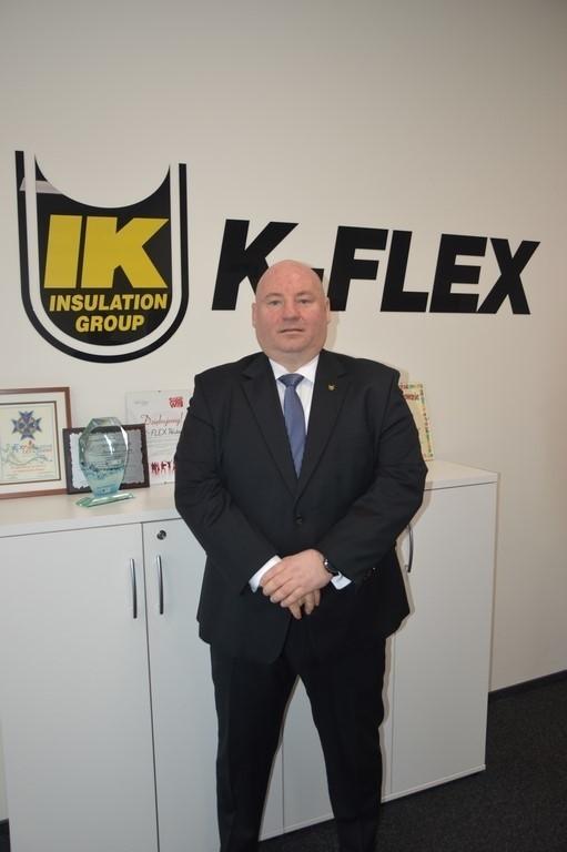 Bartłomiej Gröbner, dyrektor zarządzający spółki K- Flex Polska