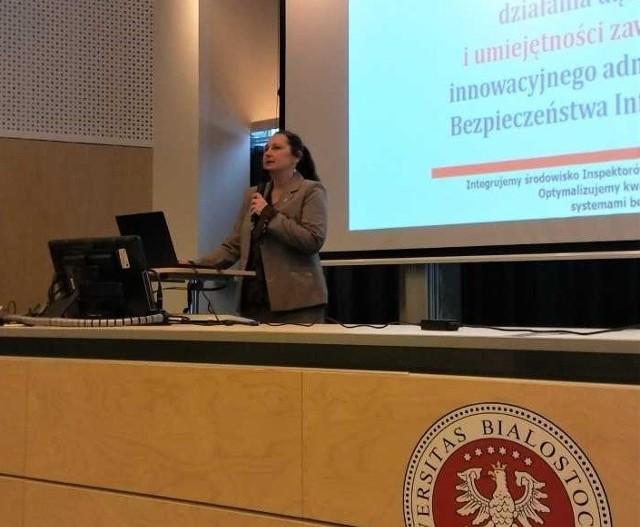 Beata Lewandowska ze Stowarzyszenia Inspektorów Ochrony Danych Osobowych w Polsce