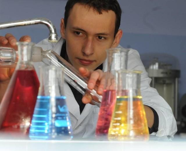- Dzięki chemii odbyłem podróż mojego życia - mówi Kornel Ocytko z Zielonej Góry