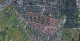 Oświęcim widziany z satelity Google. Tak z lotu ptaka wygląda stolica powiatu oświęcimskiego. Poznaj miasto z innej perspektywy [ZDJĘCIA]